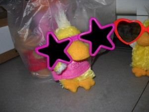 A girl duckie!