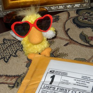 I got a package